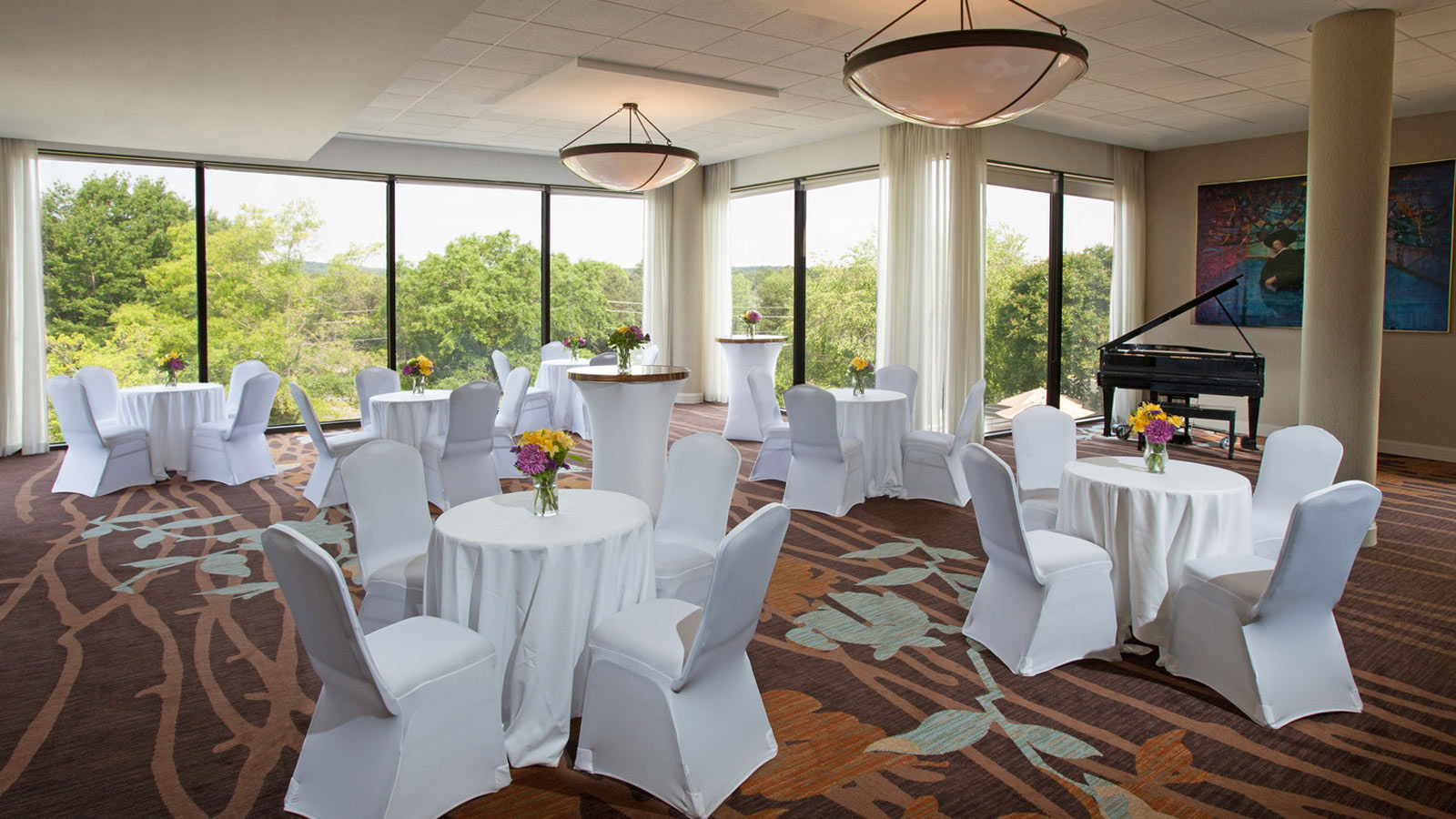 Chapel Hill Wedding Venues - Ballroom setup